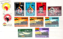 GHANA 2 DIFFERENT SETS MNH - Ghana (1957-...)