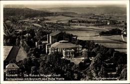 Cp Bayreuth In Oberfranken, Fliegeraufnahme, Festspielhaus Mit Hohe Warte - Germania