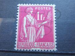 VEND BEAU TIMBRE DE FRANCE N° 369 , XX !!! - 1932-39 Peace