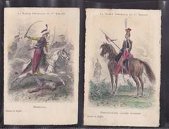 La Garde Impériale Du 1er EMPIRE , Lot De 2 Cartes - France