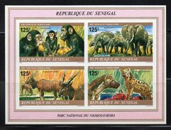 - SENEGAL - Yvert & Tellier Bloc N° 21 Neuf ** NON DENTELE 1980 - FAUNE - Animaux Du Parc Du Niokolo-Koba - - Non Classificati