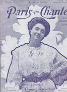 Yvette GUILBERT Numéro Spécial De Paris Qui Chante 1905 - 1900 - 1949