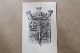 LA CAVALERIE - Blason Templiers Hospitaliers - Dessin De F.Montès (12 Aveyron ) - La Cavalerie