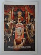 666-Cartolina Promocard PC N.7339 Absolut Vodka Collection - Pubblicitari
