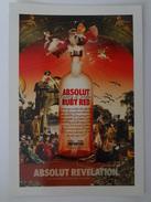 666-Cartolina Promocard PC N.7372 Absolut Vodka Collection - Pubblicitari