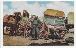 Mongolia - House-Carts And Camels - Mongolia