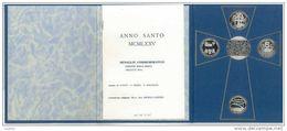 Numismatica - MEDAGLIE ANNO SANTO 1975 - EDITE DALLA ZECCA - AUTORI: M. CITATI - V. SERRA - S. RICCIALDI - Autres