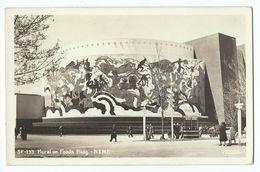 New York World's Fair 1939 - Mural On Food's Bldg - Expositions