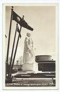 New York World's Fair 1939 - Statue Of George Whasington - Expositions