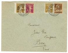 Suisse // Schweiz // Switzerland //  1907-1939  //  Lettre Pour Bex 10.02.1930 - Suiza