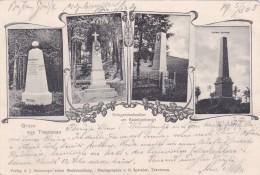 Gruss Aus Trautenau - Kriegerdenkmäler Am Kapellenberg * 5. 3. 1905 - Czech Republic