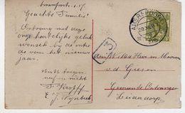 "Netherlands Amersfoort - 29.XII 1916 ,,8"".Postcard Motive New Year,Child,Girl - Brieven En Documenten"