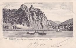 Gruss Vom Schreckenstein Bei Aussig A. D. Elbe * 20. 7. 1902 - Czech Republic