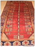 PERSIAN PERSIA IRAN CARPET GABBEH THE YEAR 1930 - Alfombras & Tapiceria