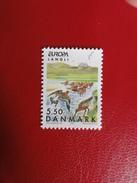 Danemark - 1999 - Barge Rousse - Thème: Europa - Cigognes & échassiers
