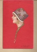 ILLUSTRATEUR :  E. COLOMBO  -  FEMME  PORTRAIT - Colombo, E.