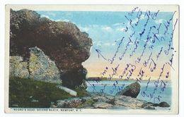 Newport - Negro's Head, Second Beach - Newport