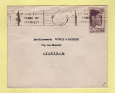 Papeete - Tahiti - Visitez Tahiti Perle Du Pacifique - Aout 1949 - Tahití