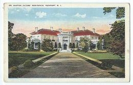 Newport - Dr. Barton Jacob's Residence - Newport