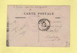 Sousse - Tunisie - Service A La Mer - Marine Francaise - Carte Ecrite à Bord De L'Eros - 21-3-1918 - Tunisia (1888-1955)