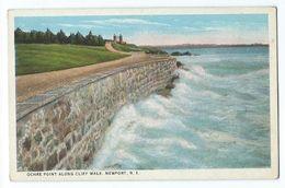 Newport - Ochre Point Along Cliff Walk - Newport