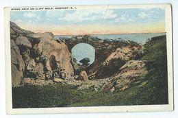 Newport - Stone Arch On Cliff Walk - Newport