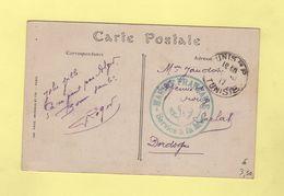 Tunis - Tunisie - Service A La Mer - Marine Francaise - 1917 - Tunisia (1888-1955)