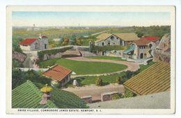 Newport - Swiss Village, Commodore James Estate - Newport