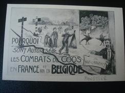 MOUSTIER : Souvenir De La Manifestation Du 16 Décembre - Pourquoi Sont Autorisés Les Combats De Coqs En FRANCE Et Non En - Frasnes-lez-Anvaing