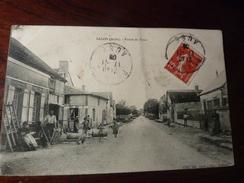 CP 10  SALON ROUTE DES FAUX  ANIMEE CIRCULEE - Francia