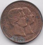Belgique - 10 Centimes 1853 - 1831-1865: Leopold I