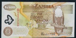 ZAMBIA P 43f 500 KWACHA 2008  UNC. - Zambia