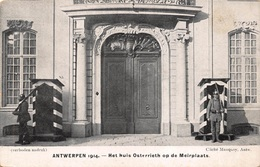 Antwerpen Anvers   1914  Het Huis Osterrieth Op De Meirplaats     X 2671 - Antwerpen