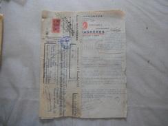 BANYULS SUR MER ANDRE MAGNERES VIGNERON  GRANDS VINS FRANCAIS COURRIER ET TRAITE DU 16 NOVEMBRE 1949 - Frankrijk