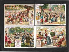 Liebig Serie RARISSIMA S230 Vita Viennese1° 4ITALIANE + 2BOEME -1888 OTTIMO STATO - Liebig
