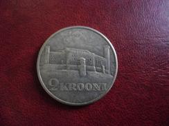 ESTONIE 1930 ARGENT SILVER 2 Krooni (Forteresse De Toompea) Commémorative 30 Mm @ KM# 20 - Estonie