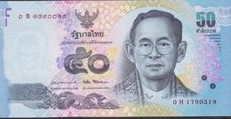 THAILAND P119d 50 BAHT 2012 Signature 87 UNC. - Tailandia