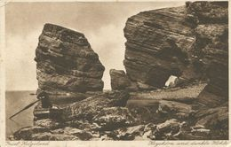 Insel Helgoland - Hoyshörn Und Dunkle Höhle Feldpost (001618) - Helgoland
