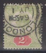 Grande-Bretagne - YT 109 Oblitéré - 1902-1951 (Re)