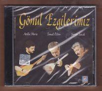 AC -  Atilla Meriç Ismail özden Servet Sarak Gözül Ezgilerimiz BRAND NEW TURKISH MUSIC CD - World Music