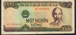 VIETNAM  P102 1000 DONG 1987 #GF     VF - Vietnam