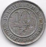 Belgique - 10 Centimes 1863 - 1831-1865: Leopold I