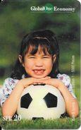 Prepaid: GlobalOne 31 - Kids & Sports 1 - Mädchen Mit Fussball - Schweiz
