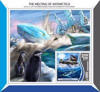 Sierra Leone 2017 Melting Of Antarctica - Environment & Climate Protection