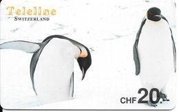 Prepaid: Teleline - Pinguine - Switzerland