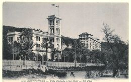 BORDIGHERA  ( Imperia ) VILLA ETELINDA E CAP HOTEL - Italia