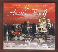 AC -  Hakan Kumru Anadolu Turu 4 Gezsen Anadoluyu Songs Of Anatolian Sound BRAND NEW TURKISH MUSIC CD - World Music