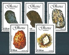 Ghana (1991) Yv. 1196/00  /  Minerals - Mineraux - Minéraux