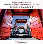 Monaco - 2017 - Forbidden City In Monaco - Mint Souvenir Sheet - Monaco