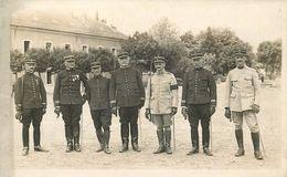 BOURGES - Le 37em D'artillerie, Des Gradés.(carte Photo) - Régiments